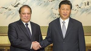 習近平會見巴基斯坦總理謝裏夫