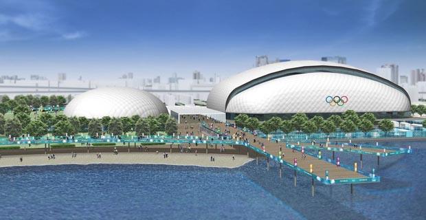 日本為東京申請2020奧運會場館設計圖曝光