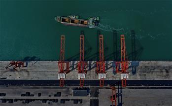 唐山港貨物吞吐量突破1億噸