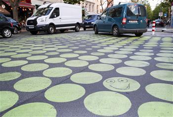 柏林試用新安全道路標識