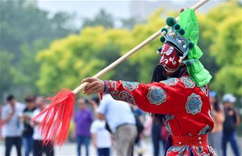 第十二屆河北省民俗文化節在石家莊舉行
