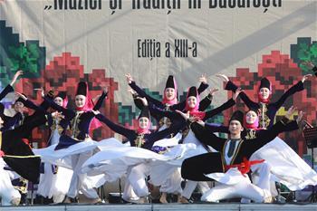 羅馬尼亞國際民間音樂和傳統藝術節閉幕