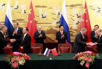 中俄簽署係列文件深化戰略協作夥伴關係