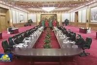 胡錦濤同土庫曼斯坦總統舉行會談