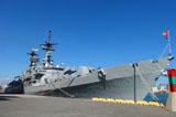 意大利海軍驅逐艦造訪西班牙巴塞羅那(高清組圖)