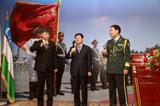 中國駐烏茲別克斯坦使館舉行建軍節招待會 (高清組圖)