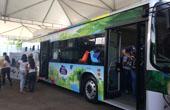 巴西國家科技展上比亞迪純電動公共交通工具受歡迎