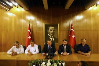 土耳其发生未遂军事政变