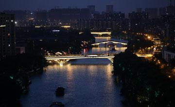 G20圖片故事:運河南端寫給世界的詩