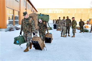 約300名美國軍人抵達挪威