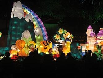 福州元宵燈會宛如童話世界