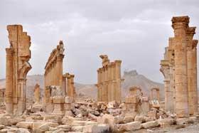 被收復的古城巴爾米拉