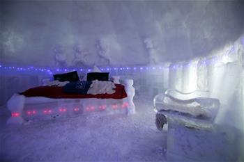 羅馬尼亞的巴萊亞冰旅館