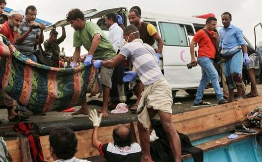 31名索馬裏難民因船只遭受襲擊身亡