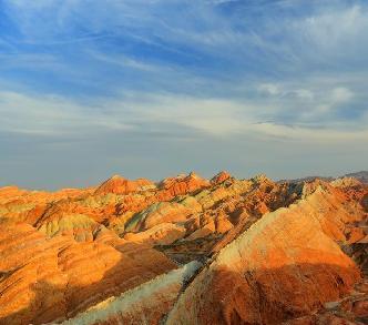 甘肅張掖彩虹山竟然美成這樣