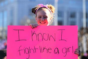 美國各地舉行婦女大遊行
