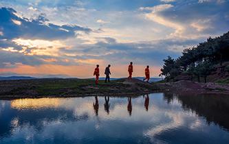 """貴州沙子坡林場:三代護林員守護一片""""林海"""""""