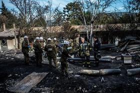 智利一養老院失火造成10人遇難