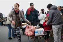 國際志願者援助福島災民