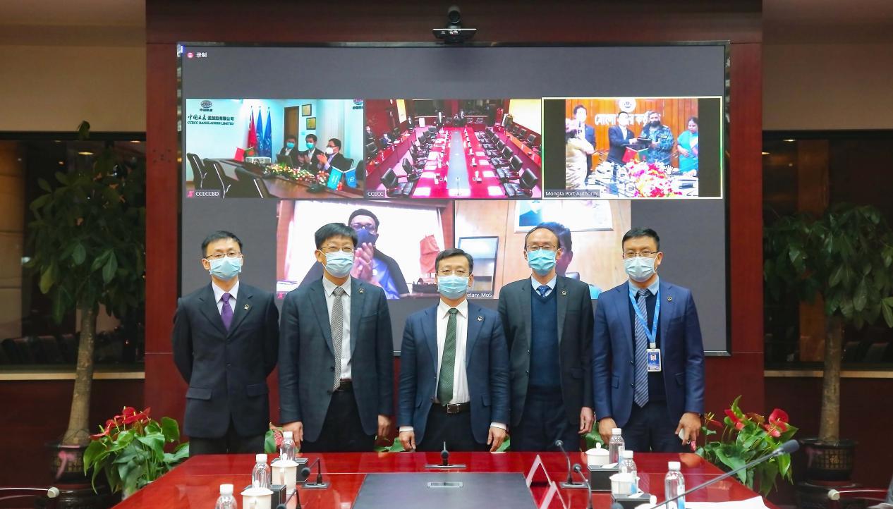 中國土木簽約孟加拉國蒙格拉港疏浚二期項目