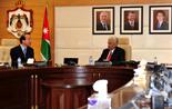 約旦首相恩蘇爾會見中國新華社總編輯何平