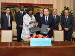 新華社與聯合國世界糧食計劃署簽署戰略合作備忘錄