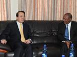 埃塞俄比亞新聞部長貝雷克特·西蒙會見新華社總編輯何平