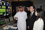新華社總編輯何平參觀阿聯酋阿布扎比國家電視臺