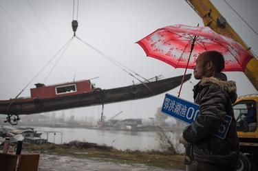 退捕上岸的長江漁民