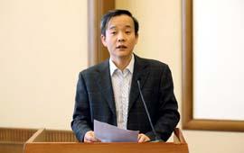 中国科协调研宣传部部长郭哲发言